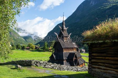 stave church borgund sogn og fjordane
