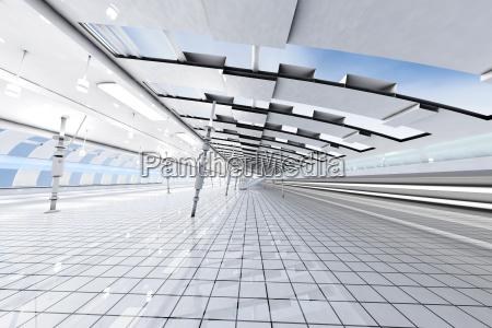 3d rendered illustration architecture visualisation of