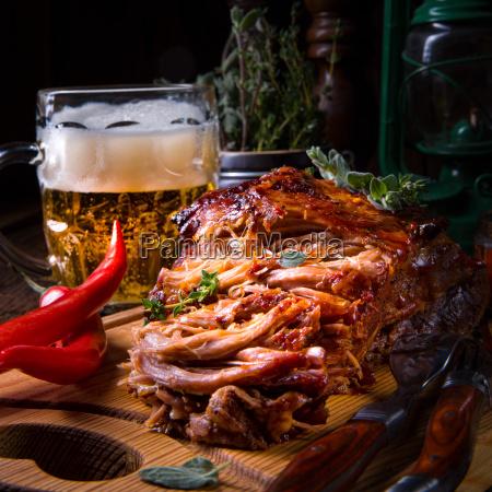Pork, Food, Grill, Dinner, Bbq, Sandwich - 23576858