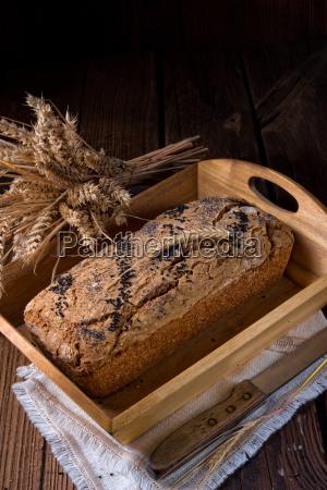 tasty, homemade, bread - 23576832