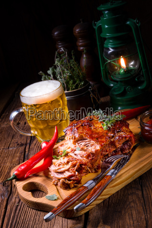 tasty, barbecue, pulled, pork - 23577748