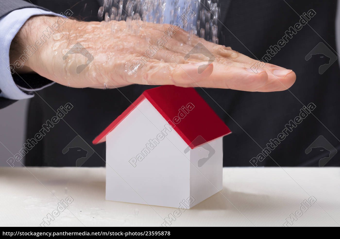 hand, over, the, house, model, from - 23595878