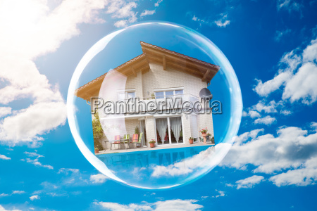 close-up, of, house, inside, bubble - 23596956