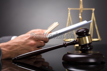close-up, of, a, gavel - 23597106
