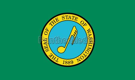 musical flag of washington state