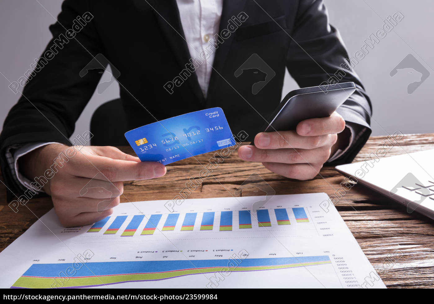 businessperson, shopping, online, with, mobile, phone - 23599984