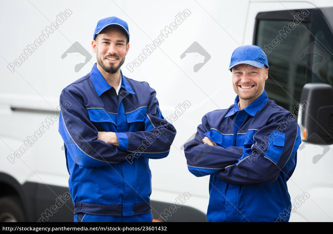 portrait, of, a, happy, male, workers - 23601432