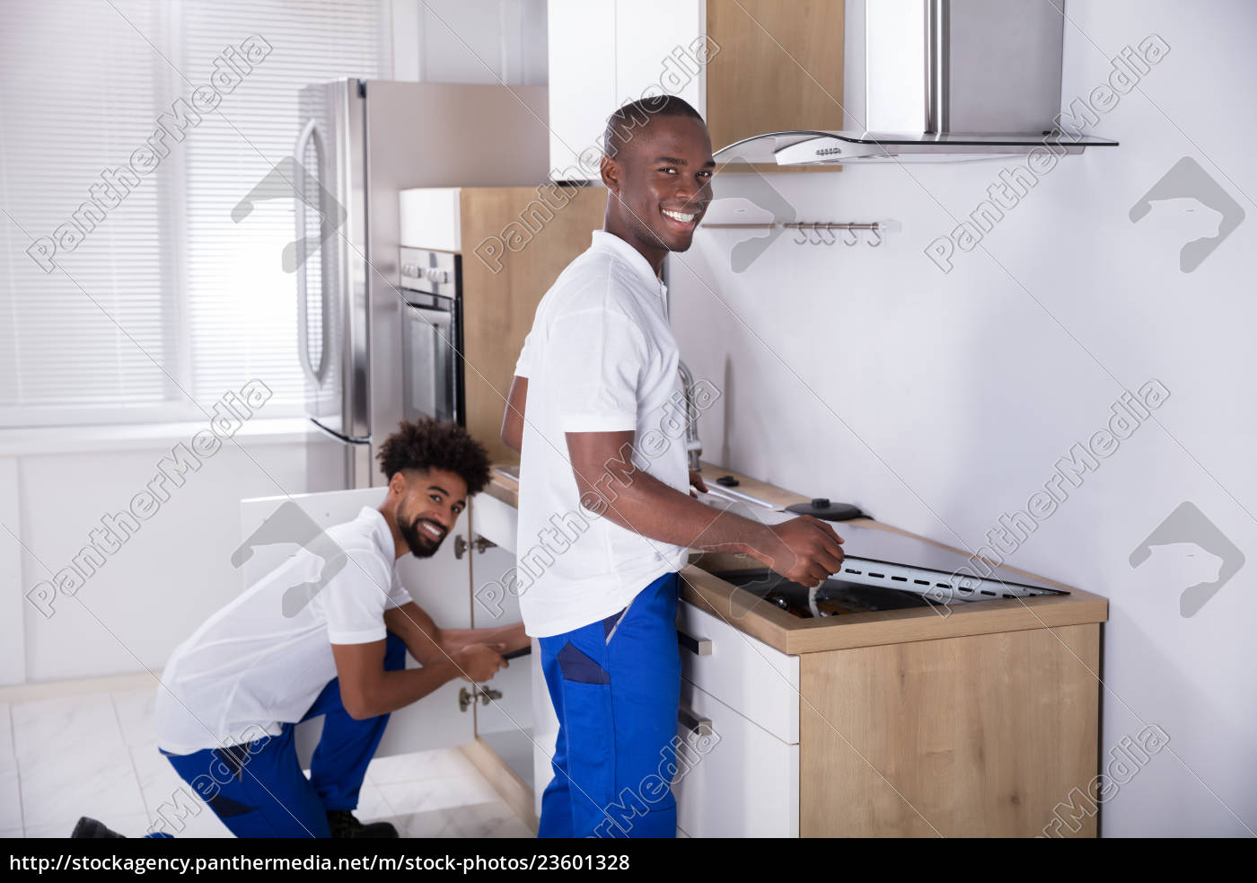two, young, handy, men, fixing, the - 23601328