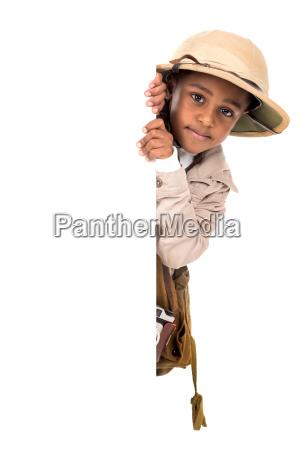 boy, in, safari, clothes - 23603752