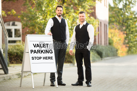 portrait, of, a, young, male, valet - 23610534