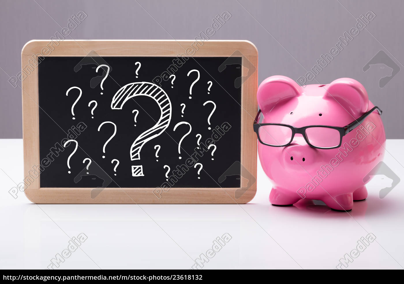 piggy, bank, with, eyes, glass, and - 23618132