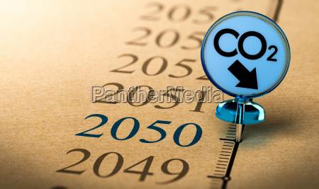 2050 climate plan reduce carbon dioxide