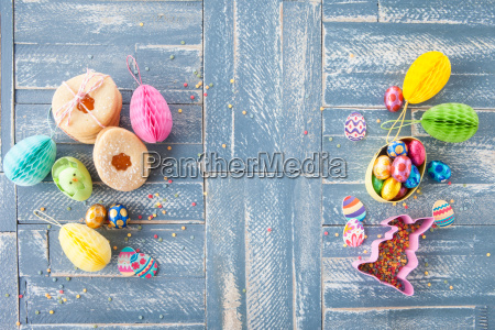 colorful sweets for easter