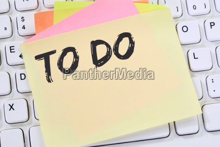 to do to do list note