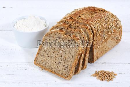 bread multigrain bread wholegrain bread grain