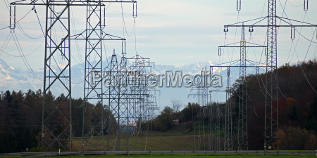 electricity track in the south