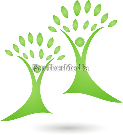 plant leaves people naturopaths logo