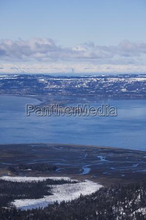 coastline of homer spit homer alaska