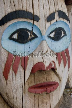 close up of an alaska native