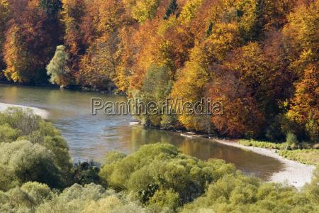 europe autumnal bavaria upper bavaria germany