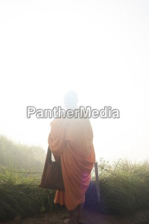 thailand phu chi fa buddhist monk