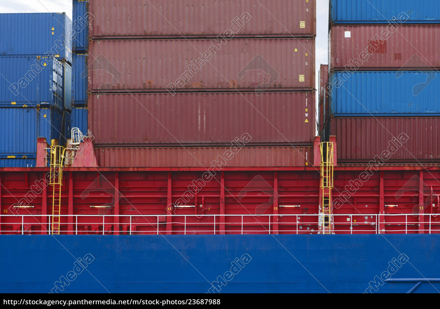 south, africa, , cape, town, , shipping, containers - 23687988