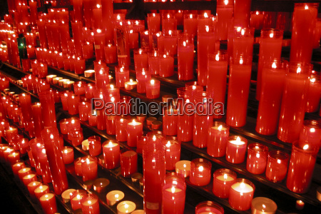religion belief church colour candle spain