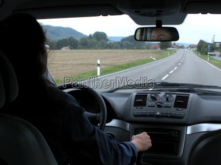 woman drive humans human beings people