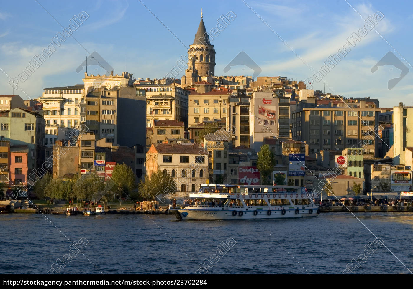 istanbul, turkey, golden, horn, in, front - 23702284