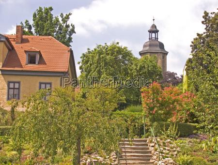 city town masters garden europe thuringia