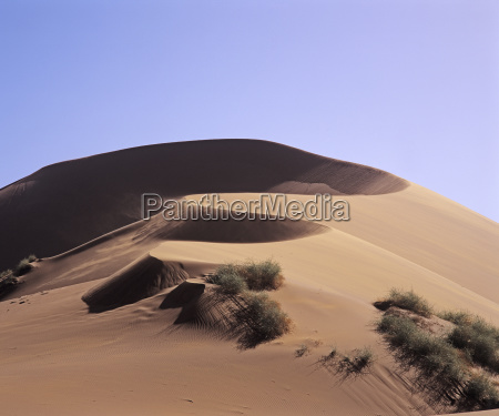 hill mountains desert wasteland africa namibia
