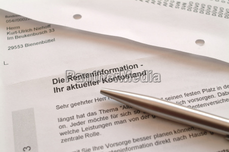 forms insurance pension supply important papers