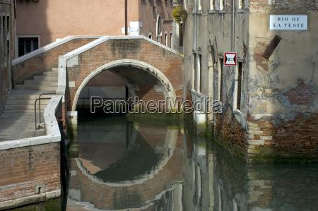 city town bridge old town venice