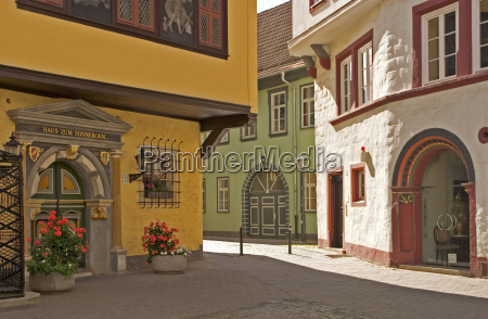 house building historical city town europe