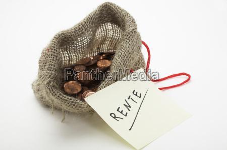 saving on the pension
