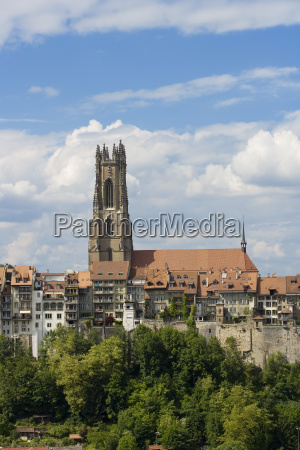 old town of freiburg friborg