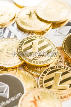 various digital cryptocurrency