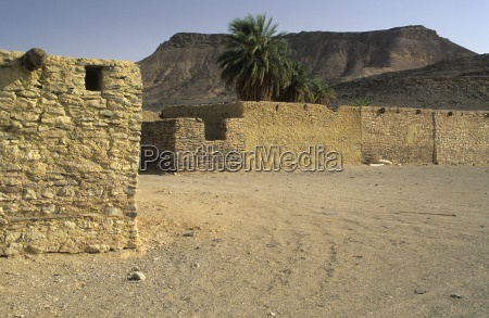 house building houses mountains stone desert