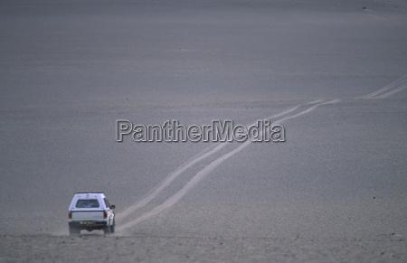 desert wasteland africa namibia car automobile