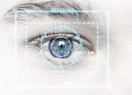 biometric hi tech security scan