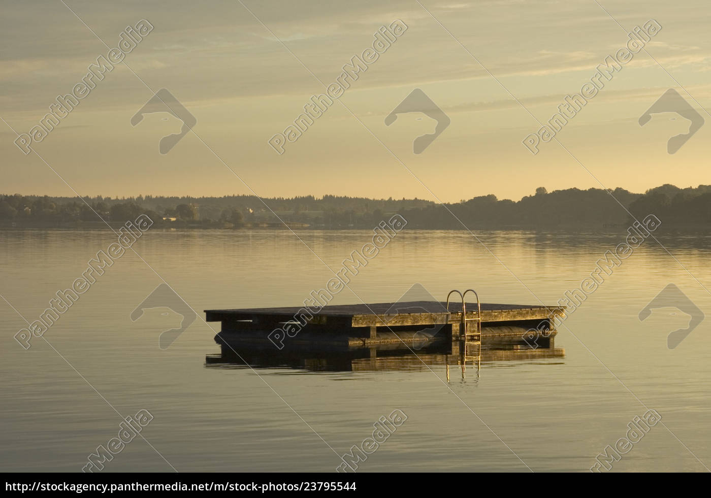 morning, sun, at, lake, chiemsee, near - 23795544