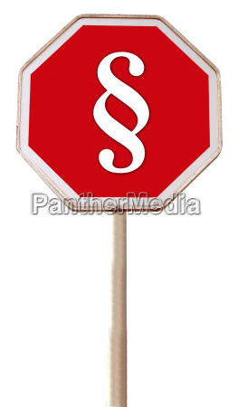 sign signal symbolic signposts law symbols