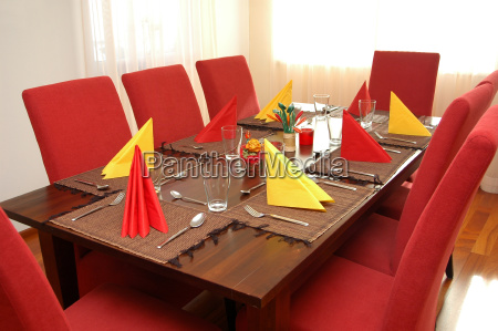 dining table beautiful beauteously nice inside