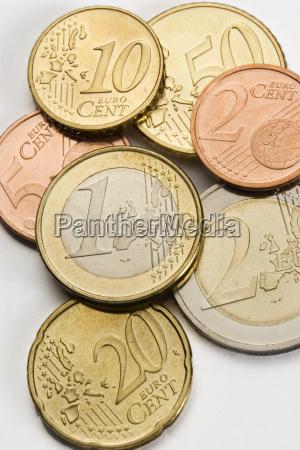 euro save coins payments money finances
