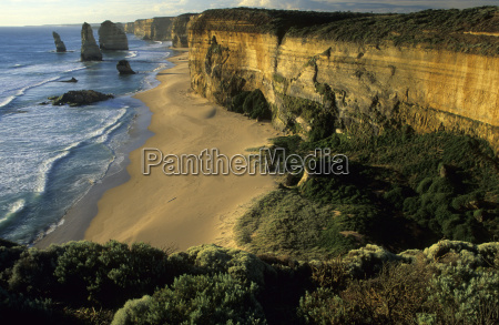 steep in port campbell national park
