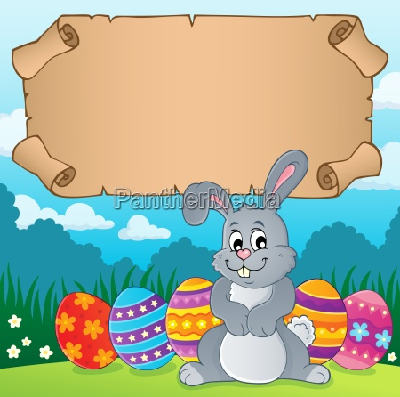 parchment and easter bunny theme 4
