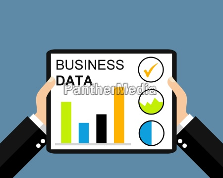 business data on your tablet
