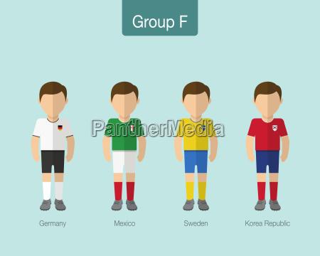 2018 uniforme del equipo de futbol
