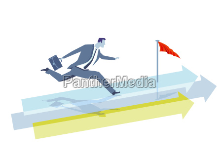 forward future concept illustration