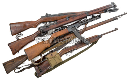 antique firearms weapons rifles machine guns
